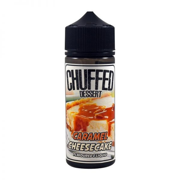 CHUFFED - Dessert - Caramel Cheesecake 120ml