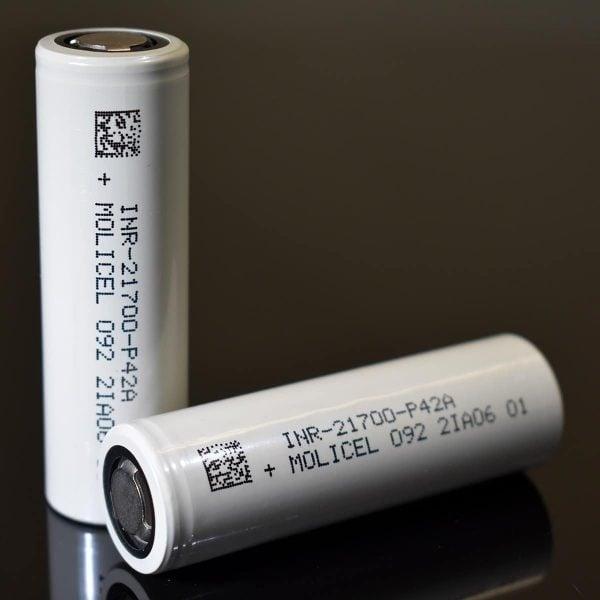 Molicel - 21700 P42A 4200mAh 45A batteri