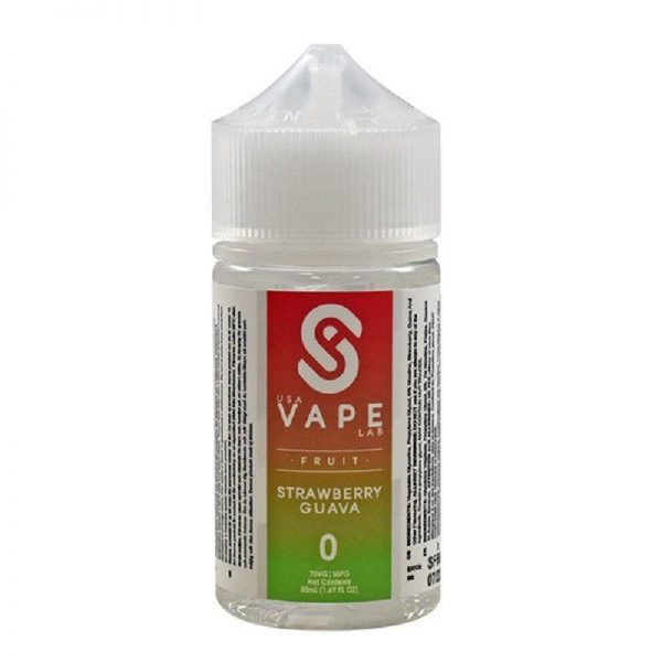 USA Vape Labs - Fruit - Strawberry Guava 60 ml