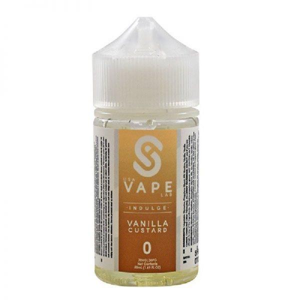 USA Vape Labs - Indulge - Vanilla Custard 60 ml