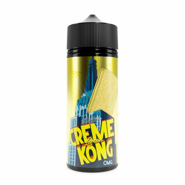 Retro Joes - Creme Kong - Lemon 120ml