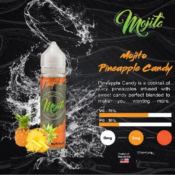 Mojito - Pineapple Candy 60ml