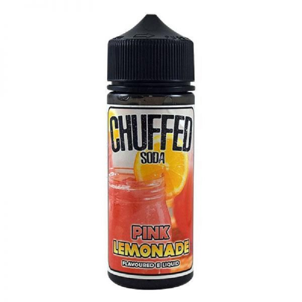 CHUFFED - SODA - PINK LEMONADE 120ML
