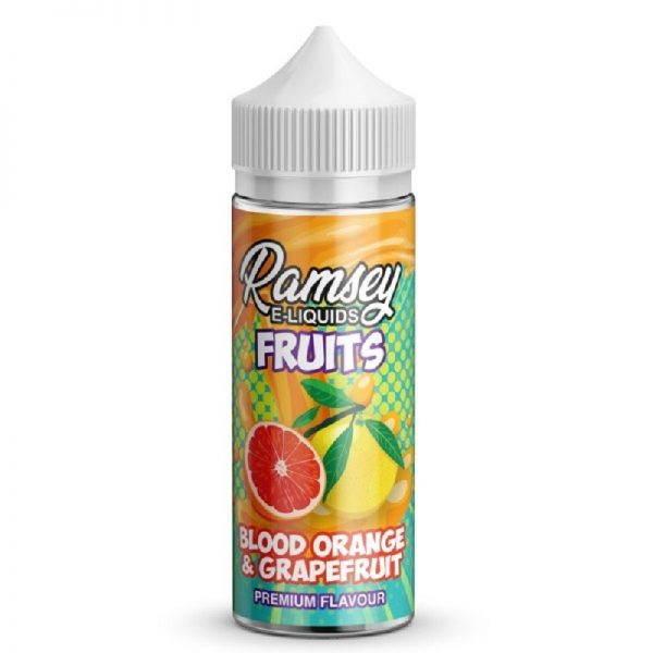 RAMSEY - FRUITS - BLOOD ORANGE & GRAPEFRUIT 120ML