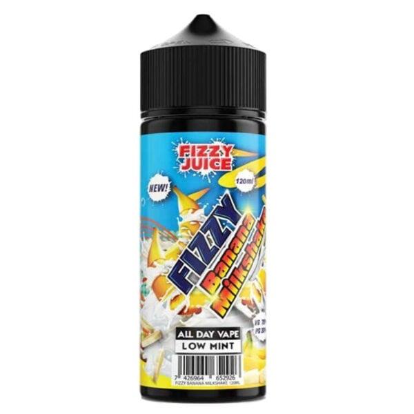 Fizzy – Banana Milkshake 120ml