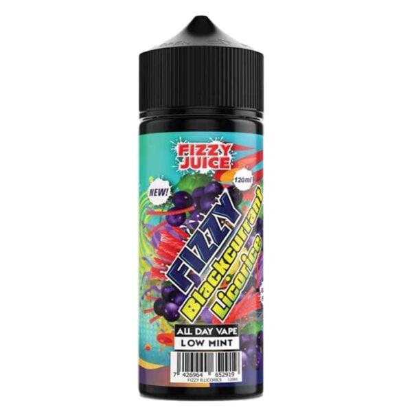 Fizzy – Blackcurrant Licorice 120ml