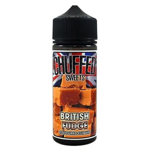 CHUFFED - SWEETS - BRITISH FUDGE 120ML