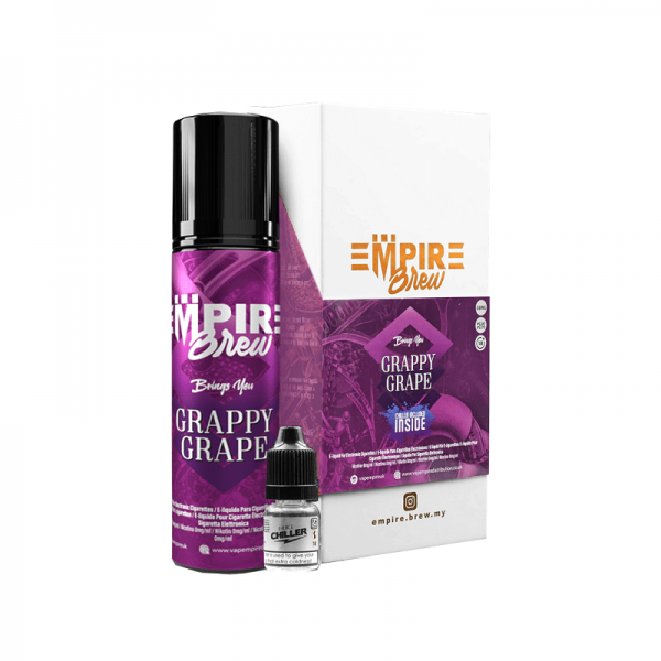 Empire Brew - Grappy Grape (No Mint) 60ml