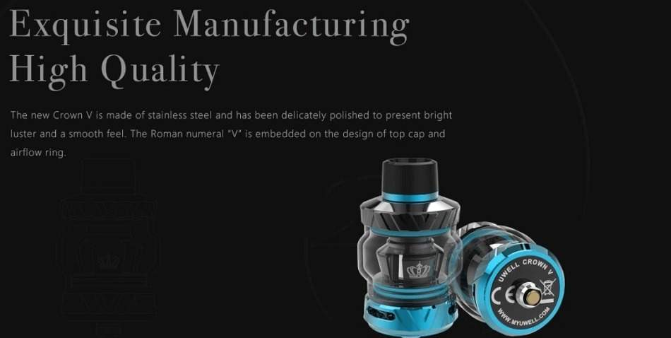 Uwell - Crown V (Crown 5) Tank