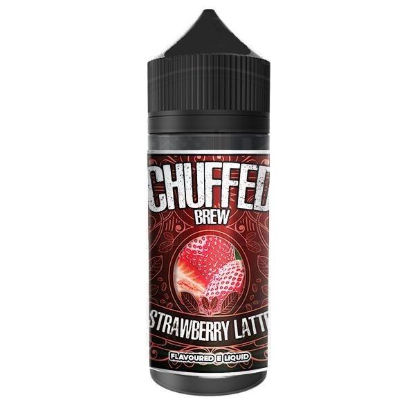 CHUFFED - BREW - STRAWBERRY LATTE 120ML