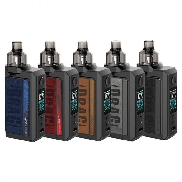 VOOPOO - DRAG Max 177W TC Kit with PNP Tank