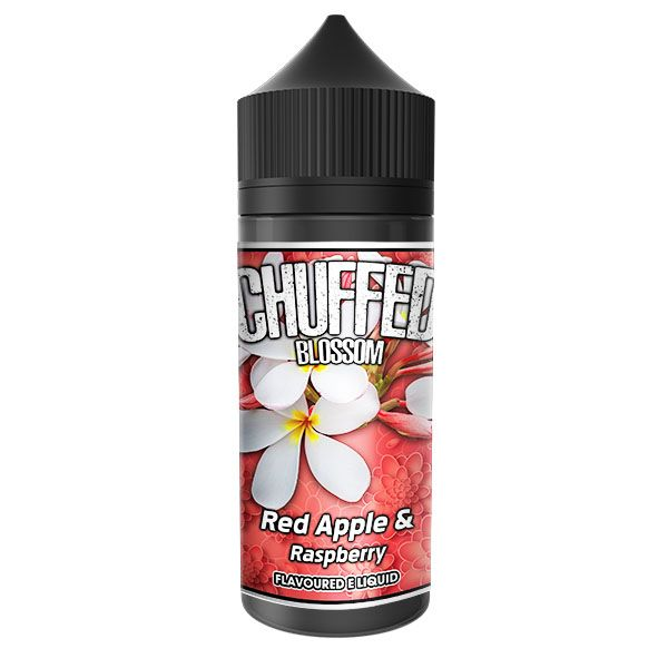 CHUFFED - BLOSSOM - RED APPLE AND RASPBERRY 120ML