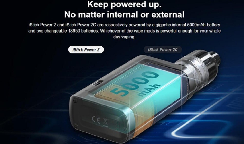 ELEAF - ISTICK POWER 2 80W MOD 5000mAh