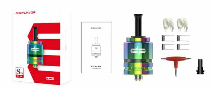 DIGIFLAVOR - SIREN V4 MTL RTA
