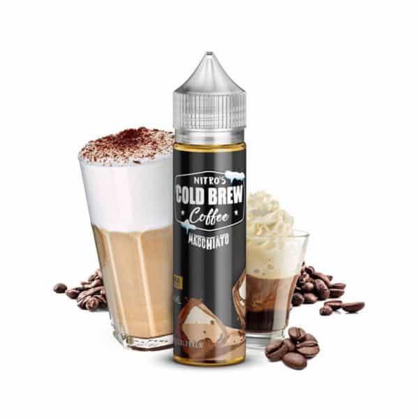 NITRO'S COLD BREW - COFFEE - LONGFILL - MACCHIATO 20ML