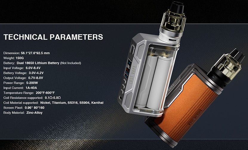 LOST VAPE - THELEMA QUEST 200W MOD